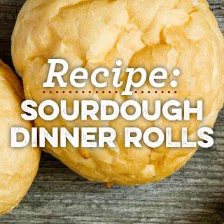 Sourdough Dinner Rolls.