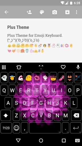 Plus Emoji Keyboard Theme