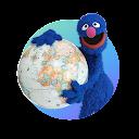Sesame Street - Globel Grover