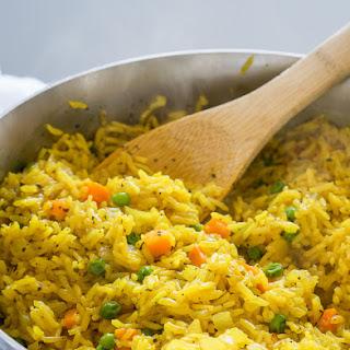 Easy Vegetable Rice Pilaf