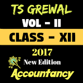 Account Class-12 Solutions (TS Grewal Vol-2) 2017