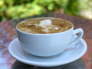 Photo: Soy latte from Voltage Coffee