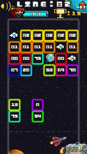 Space Blast Block Attack android2mod screenshots 6