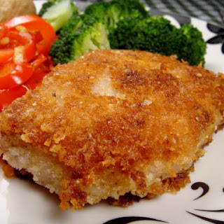 Crusted Pork Chop .