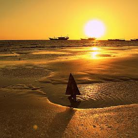 Lampu Satu Beach by Edwin Yepese - Landscapes Beaches ( landscapes )