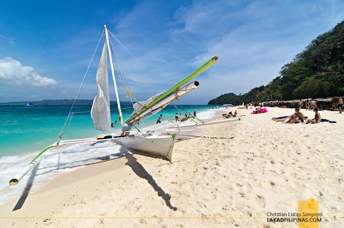 Puka Beach Paraw Boracay