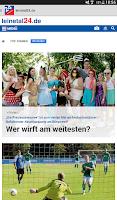 Screenshot of leinetal24.de