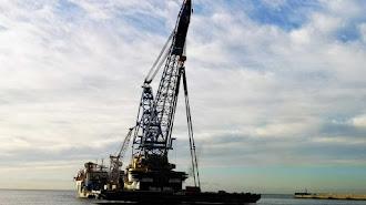 El buque-grúa Saipem 300 ha realizado con éxito la prueba.