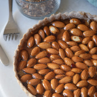 Almond Honey Pie.