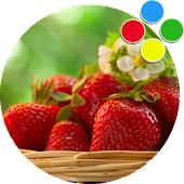 Strawberry-Xperia-theme