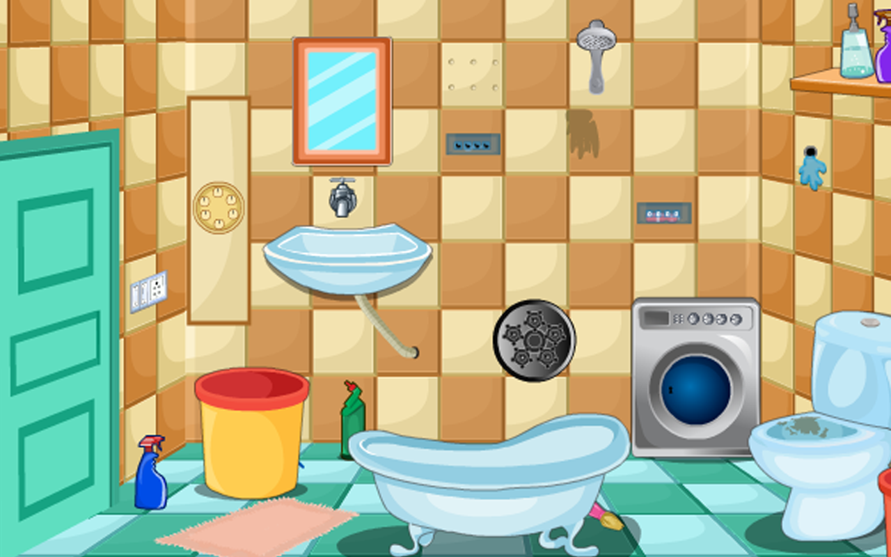 Play Wash Room Escape Game