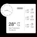 Clock Weather Small Clock icon