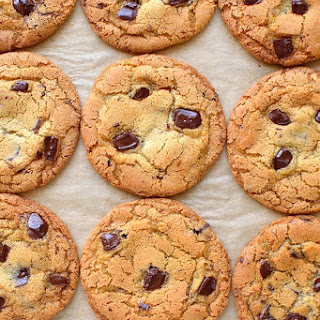 My Favourite Chewy Chocolate Chip Cookies.