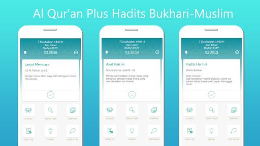 Quran Plus Al Quran kata per kata dan Hadits 2.1.3 screenshots 1