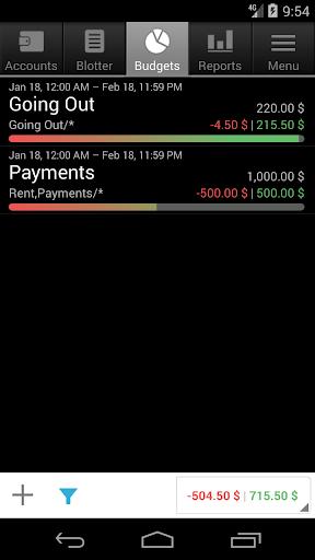 Financisto screenshot 5