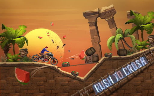 Mini Bike Stunt Trails - Racing Bike Games screenshots 7