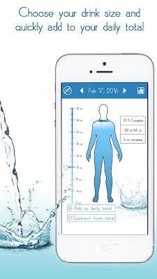 Daily Water tracker reminder - screenshot