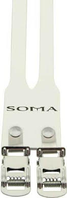 Soma Fabrications Classic Leather Double Toe Straps alternate image 0