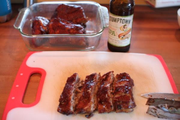 Memorial Day BBQ ribs