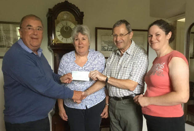 Rotarians hand over £1,632