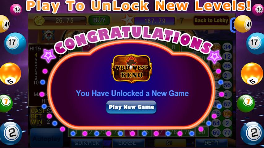 Slots casino gratuit keno