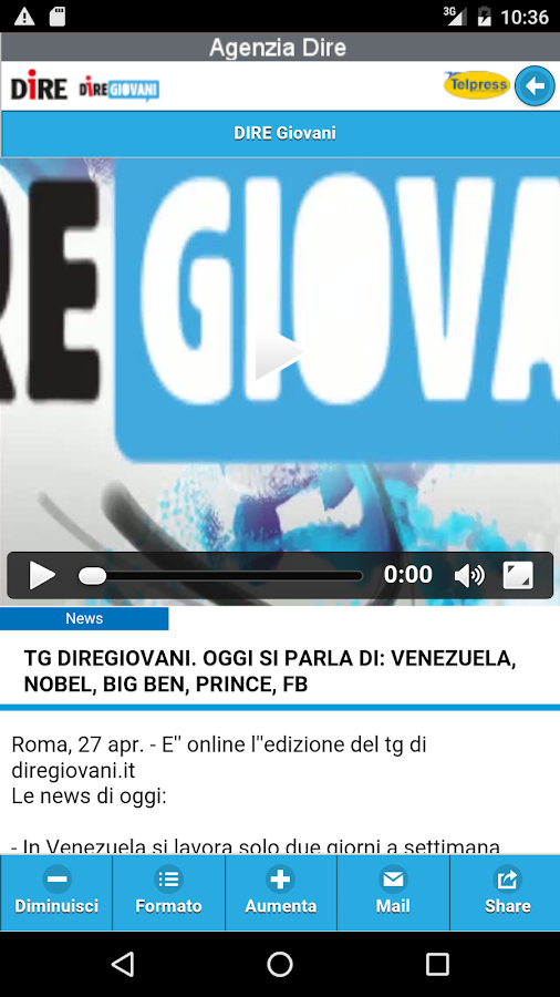 Diregiovani- screenshot