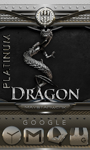 Platinum Dragon HD Icon Pack Screenshot