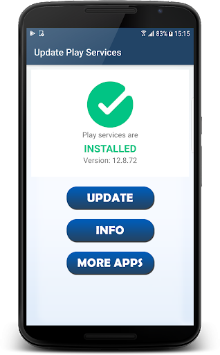 Fix Play Services - info & update 4.0 screenshots 1
