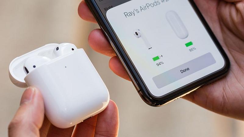 #4 cách xử lý hiện tượng AirPods bị hao Pin nhanh
