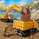 Sand Excavator Offroad Crane Transporter icon