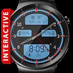 Chrome LED HD Watch Face & Clock Widget Icon