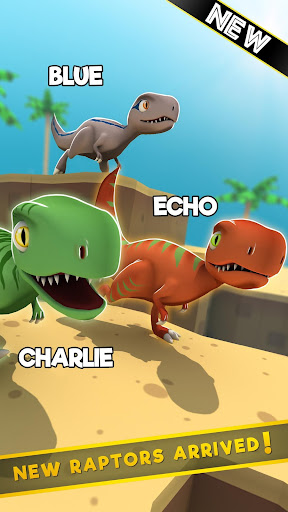 Jurassic Alive: World T-Rex Dinosaur Game screenshot 12