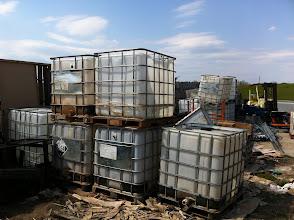 Photo: Saw some water tanks