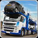 Big Rig Truck City Car Trailer icon