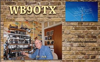 Photo: WB9OTX QSL Card Feb - 2015