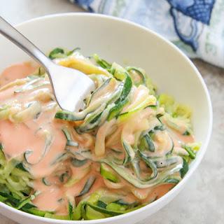 Skinny Bang Bang Zucchini Noodles