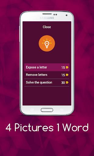 4 Pics 1 Word - Puzzle Game 3.11.5zg screenshots 5
