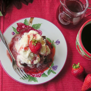 Strawberry Balsamic Syrup