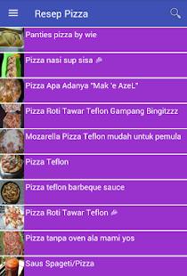 Resep Pizza - náhled