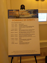 Photo: ASER 2015 Schedule of Events