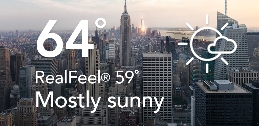 AccuWeather: Local Weather Forecast & Live Alerts