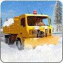 Snow blower, Excavator Crane Truck Driver icon