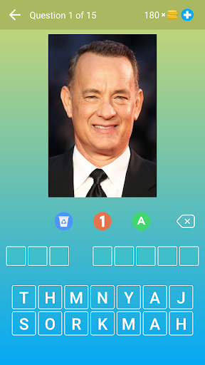 Hollywood Actors: Guess the Celebrity u2014 Quiz, Game  screenshots 1