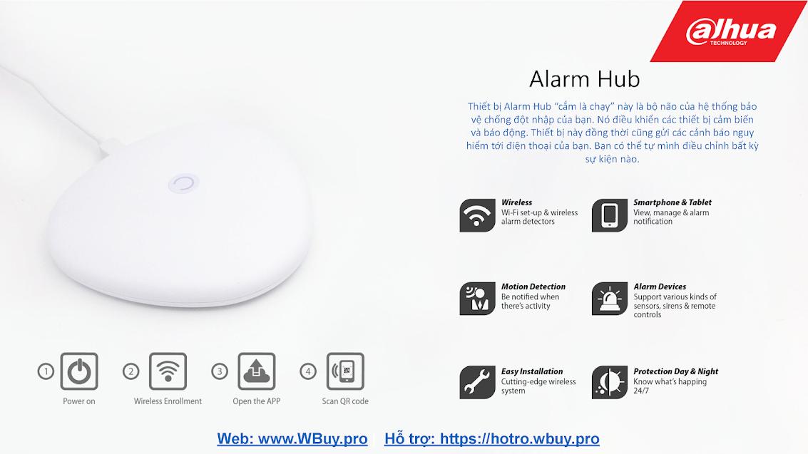 Thiết bị Alarm Hub của Dahua