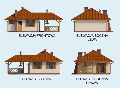 Estella - Elewacje