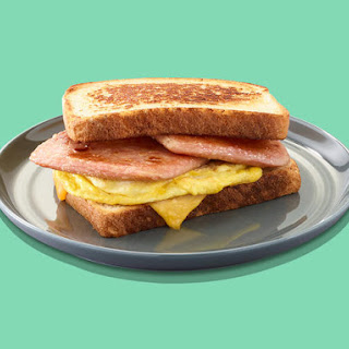 Simple Grilled Cheese and Egg SPAM® Sandwich Recipe
