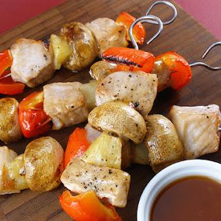Glazed Pork Kabobs