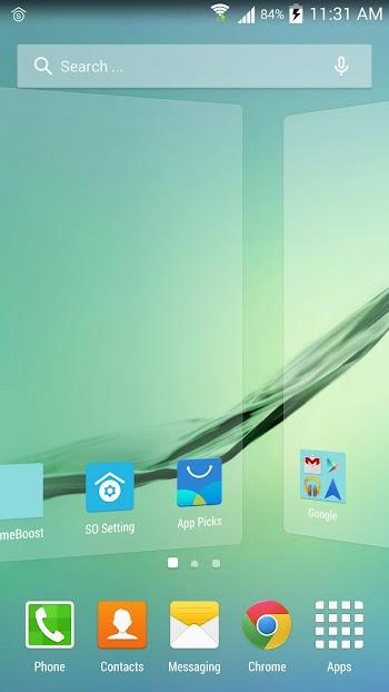 SO Launcher (galaxy launcher)- screenshot