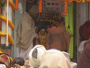 Photo: Vyasapuja @ Srila Bhaktivedanta Vamana Goswami Maharaja's Samadhi mandir