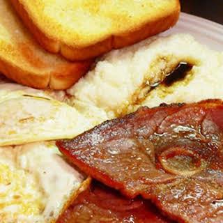 Country Ham and Red Eye Gravy.